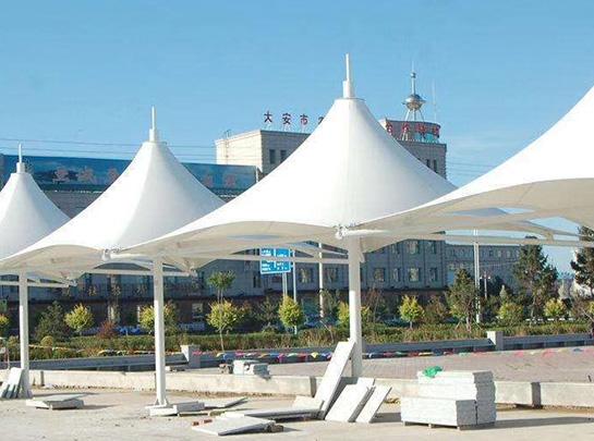 伞形膜结构景观棚