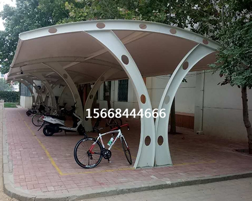 室外自行车车棚