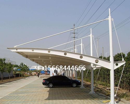 工业园膜结构车棚