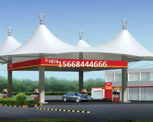 膜结构加油站工程