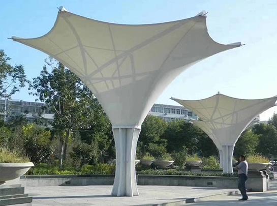 公园广场景观膜结构棚