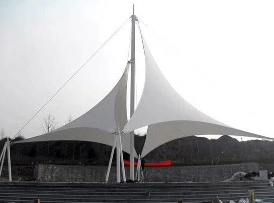 游乐场膜结构遮阳棚